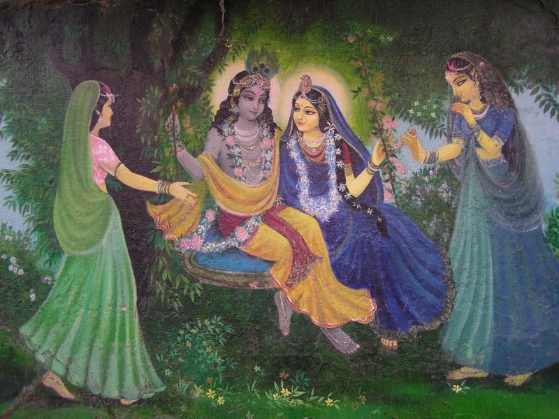 Jhulan Yatra – Radha Govinda's Swing Festival – Radha Kalachandji Temple
